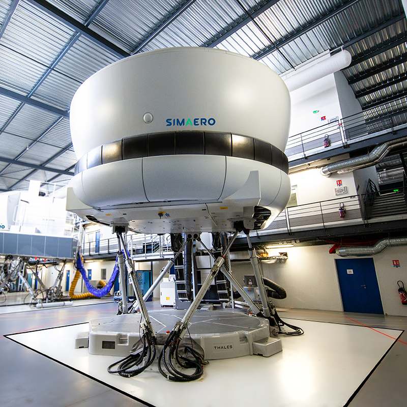 Simaero full flight simulator ATR-72-500 FFS