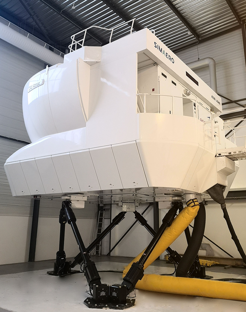Simaero full flight simulator A330 standard 2.5